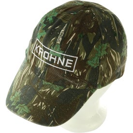 Camouflage Caps for Advertising