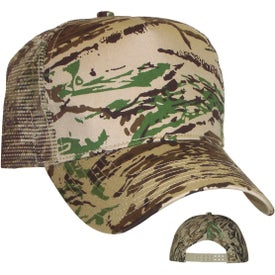 Camouflage Mesh Back Cap for your School