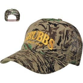 Camouflage Mesh Back Cap