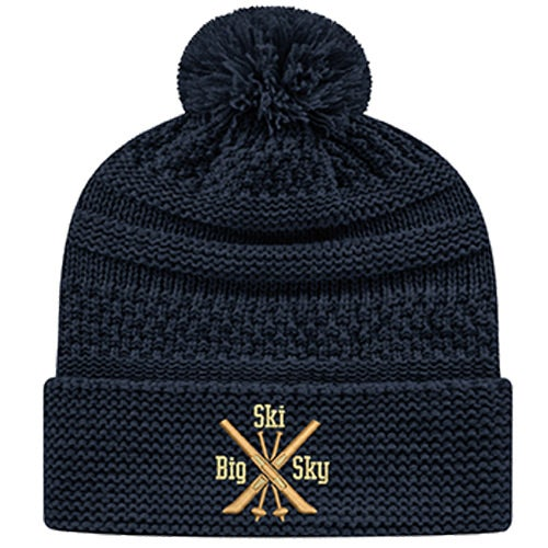 Navy Cap America Cable Knit