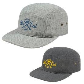 Cap America Camp Style Flat Bill Cap (Unisex)