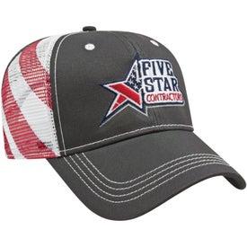 Cap America Flag Mesh Back Cap
