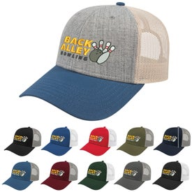 Cap America Low Profile Truckers with Modified Flat Bill Cap (Unisex)