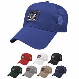 Cap America Mesh Back Solid Cap (Unisex)