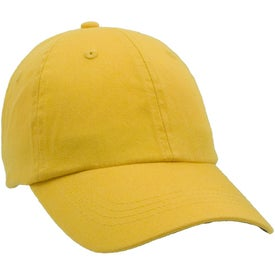 Unconstructed Chino Washed Cotton Twill Cap with Your Logo
