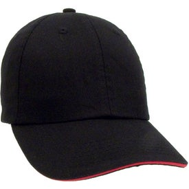Unconstructed Chino Washed Sandwich Cap for Your Organization