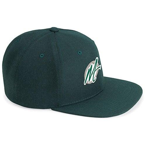 classic flat bill snapback cap custom baseball hats 5