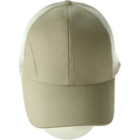 Imprinted Mesh Back Price Buster Cap