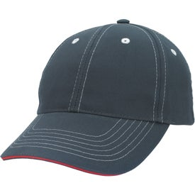 Company Contrasting Stitch Cap