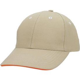 Personalized Contrasting Stitch Cap