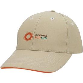 Imprinted Contrasting Stitch Cap