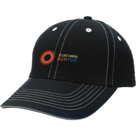 Logo Contrasting Stitch Cap