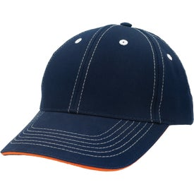 Monogrammed Contrasting Stitch Cap