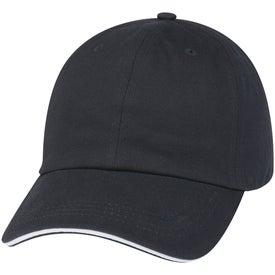 Logo Cotton Chino Sandwich Cap