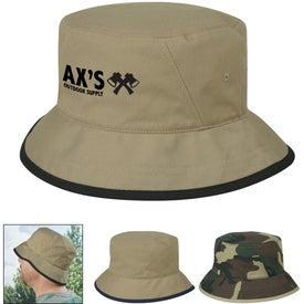 Cotton Twill Bucket Hat (Silkscreen)