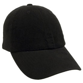 Unconstructed Deluxe Cotton Washed Brushed Cap for your School