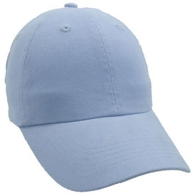 Unconstructed Deluxe Cotton Washed Brushed Cap for Marketing