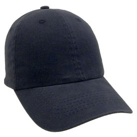 Unconstructed Deluxe Cotton Washed Brushed Cap Imprinted with Your Logo
