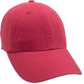 Monogrammed Unconstructed Deluxe Cotton Washed Brushed Cap