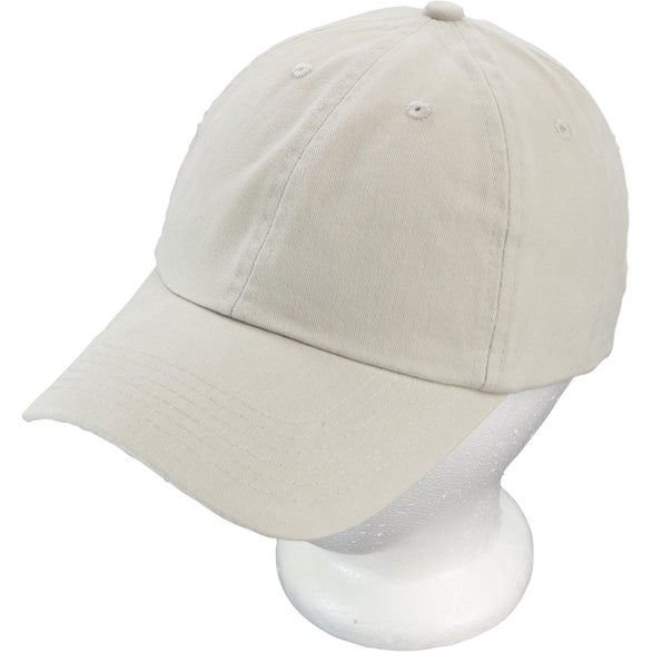 Unconstructed Deluxe Cotton Washed Brushed Cap