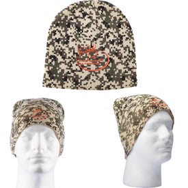 Digital Camo Knit Beanie (Unisex)