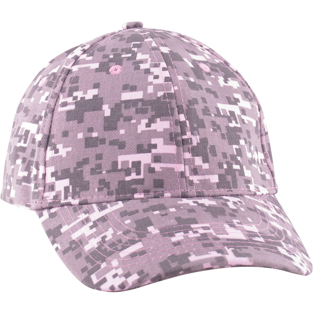 digital camo structured baseball cap custom baseball hats