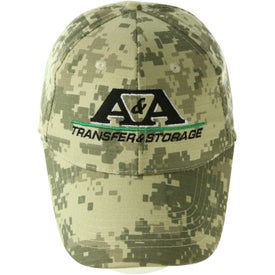 Digital Camouflage Cap for Your Company
