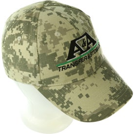 Digital Camouflage Cap for Marketing