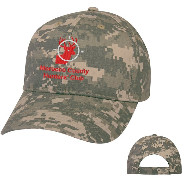 Digital Camouflage Cap