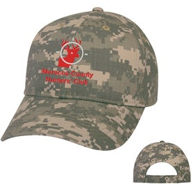 Digital Camouflage Caps (Unisex)