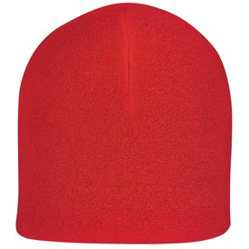 Logo Double Layer Fleece Beanie