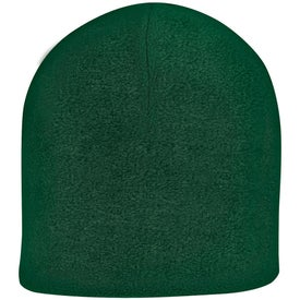Double Layer Fleece Beanie Imprinted with Your Logo