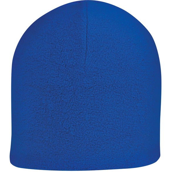 Royal Blue Double Layer Fleece Beanie