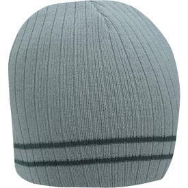 Custom Double Stripe Beanie