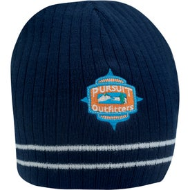 Double Stripe Beanie for Your Organization