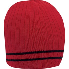 Double Stripe Beanie for Promotion