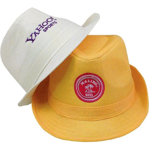 Promotional Fedora Hats with Custom Logo for  16.73 Ea. 0fa796e1ee8