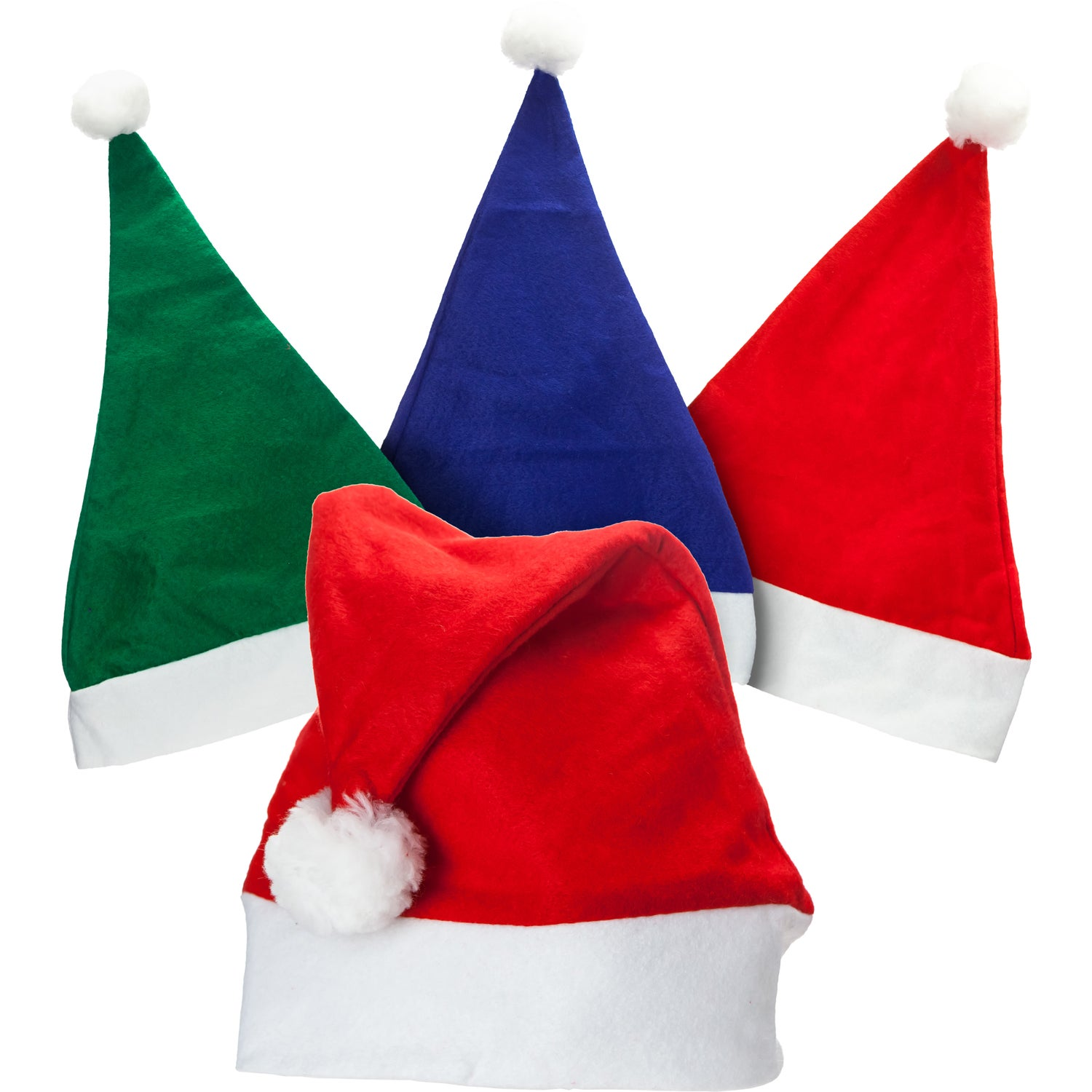 5b40c07d6b6ba CLICK HERE to Order Felt Santa Hats Printed with Your Logo for  1.76 ...
