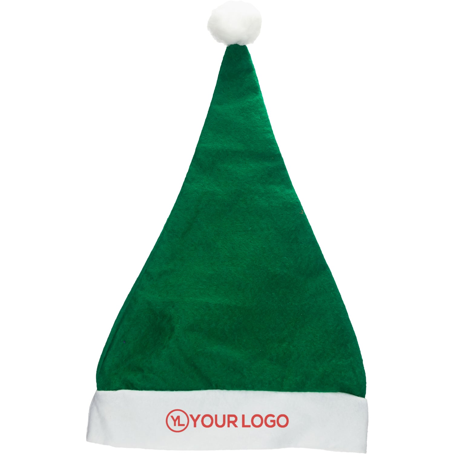 8c06ece789e36 CLICK HERE to Order Felt Santa Hats Printed with Your Logo for  1.76 ...