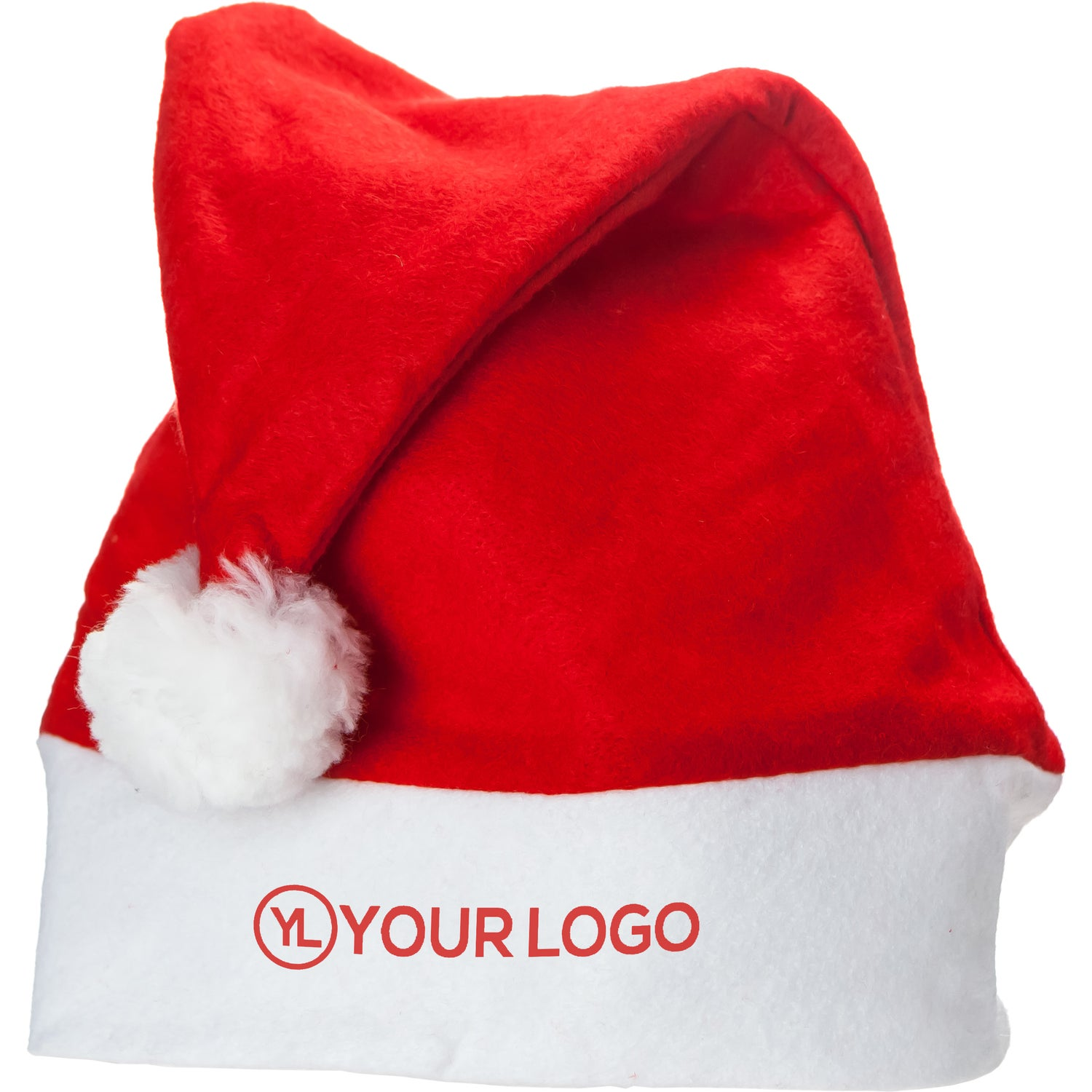 9ecb7f97ff88b CLICK HERE to Order Felt Santa Hats Printed with Your Logo for  1.76 ...