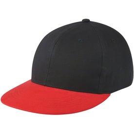Branded Flat Bill Caps