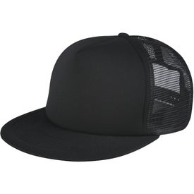 Customized Flat Bill Trucker Cap