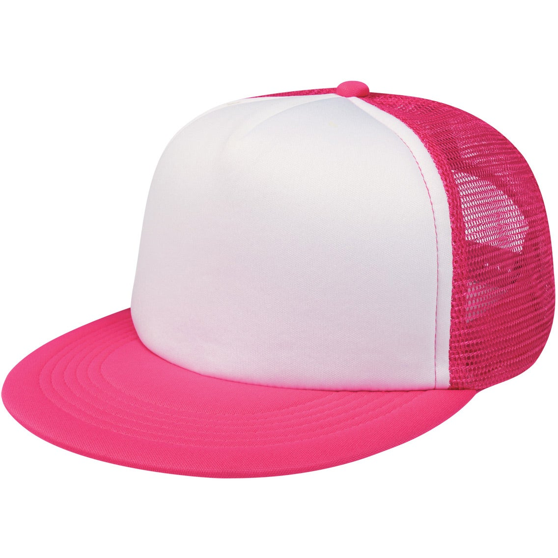 flat bill trucker cap custom baseball hats 3 07 ea