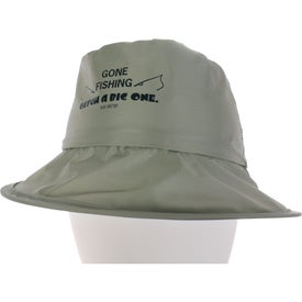 Fold N' Go Fisher Hat for Your Company