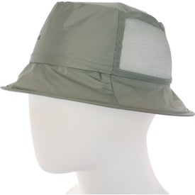 Monogrammed Fold N' Go Fisher Hat