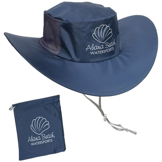 Navy Blue Fold N' Go Outdoor Hat