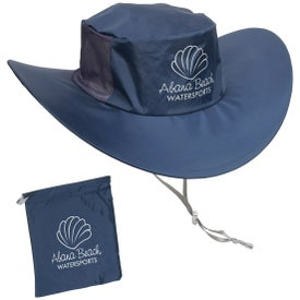 Fold N' Go Outdoor Hat with Your Slogan