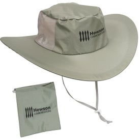 Fold N' Go Outdoor Hat Printed with Your Logo