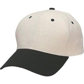 Custom Heavy Brushed Cotton Twill Cap