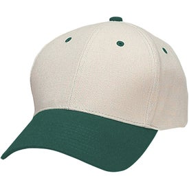 Heavy Brushed Cotton Twill Cap Printed with Your Logo